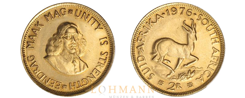 2 Rand Goldmünze