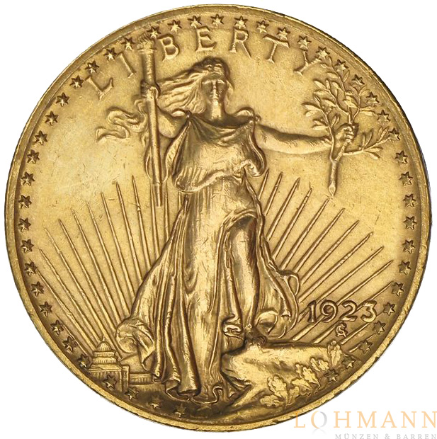 Saint Gaudens $ 20 Double Eagle